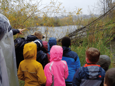 This beaver pond in Seattle's Magnuson Park offers city kids an opportunity to connect with nature.